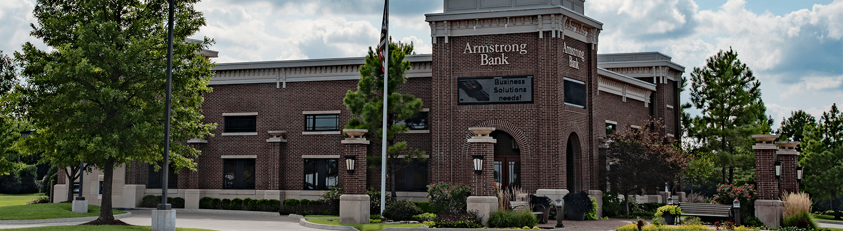 Armstrong Bank building in Bartlesville, Oklahoma.